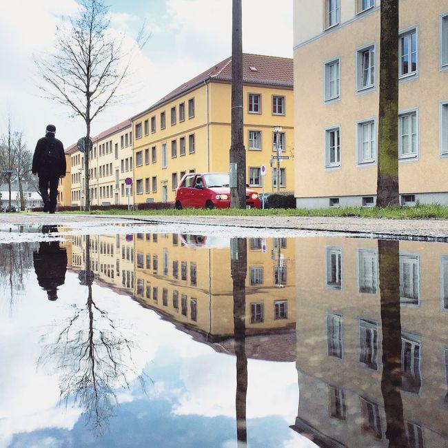 Neubrandenburg Reflection Reflection_collection Water Reflections Reflections
