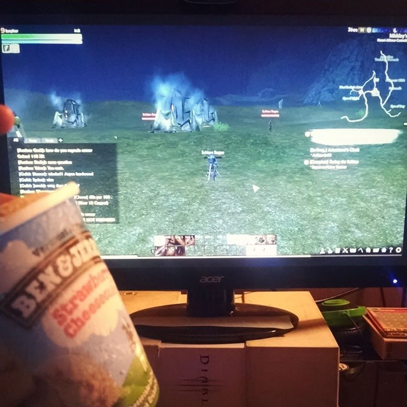 ArcheAge and Ben &Jerry's Gaminglife