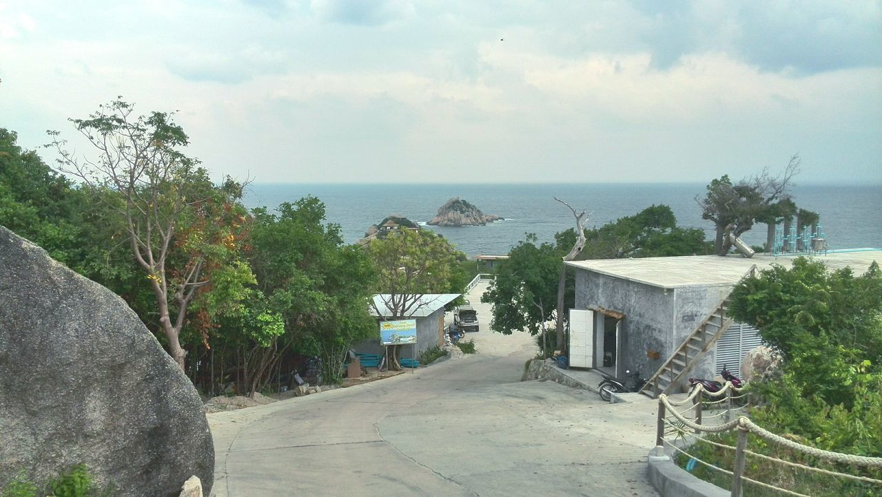 Background Thailand Tao  Koh Tao Outdoors No People Tranquility Ko Tao Sunlight Horizon Over Water Miles Away