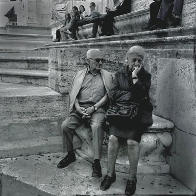 streetphoto_bw in Roma by Giovanna