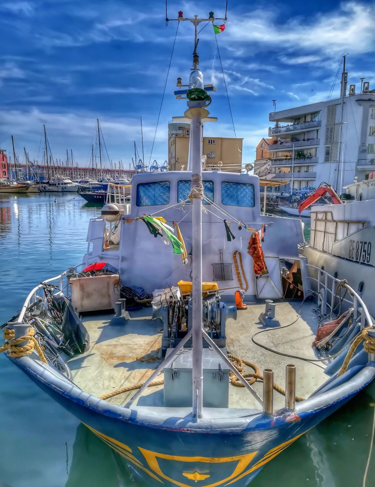 Nautical Vessel Water Moored Transportation Harbor Outdoors Reflection No People Mode Of Transport Sky Travel Destinations Day City Gondola - Traditional Boat Sailing Ship Hdr_Collection Hdr Edit Hdrphotography