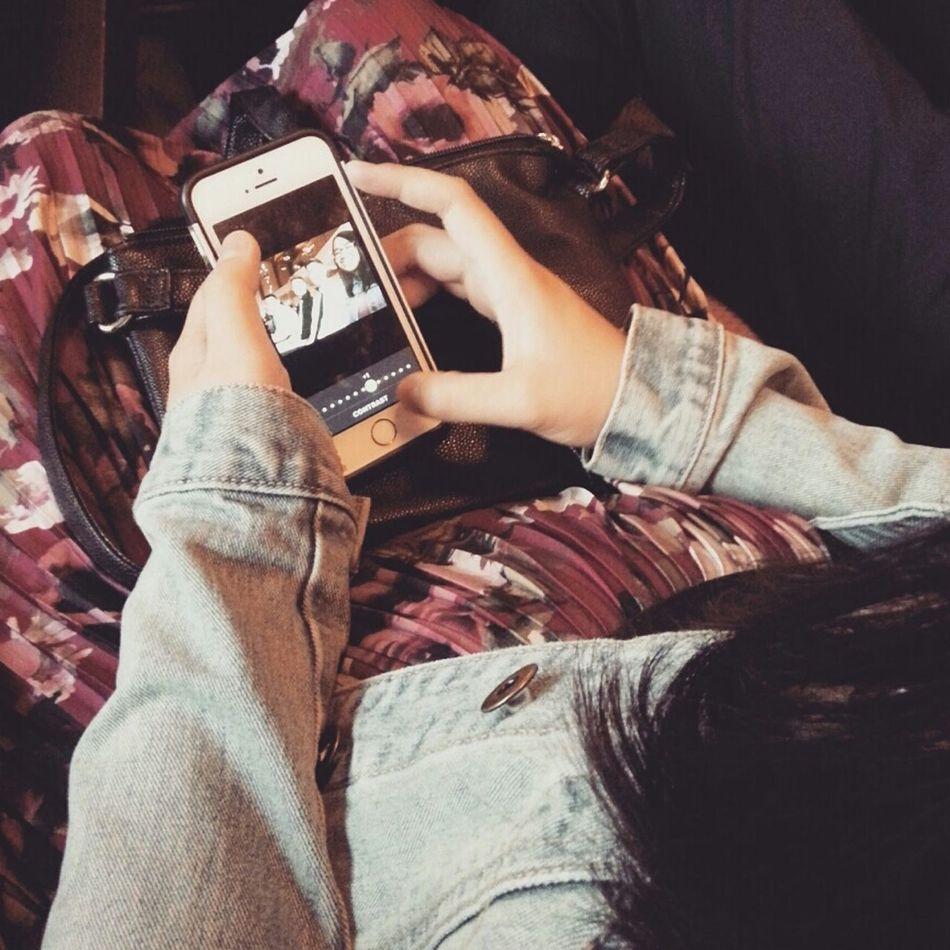IPhone Editing Floraldress Denim Love ♥