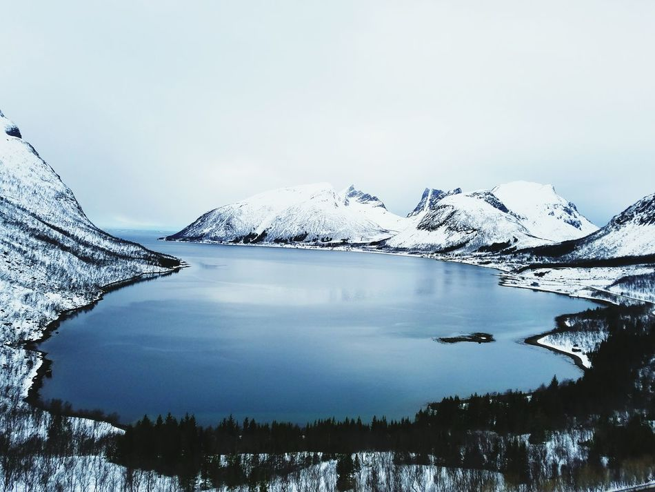 First Eyeem Photo EyeEmNewHere Norway Wanderlust Get Lost Scenic Drive Roadtrip Scenic View Wintertime Water