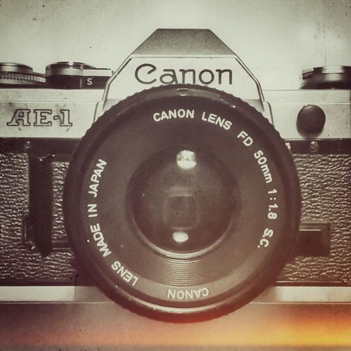 My 1st Love | Analogic Camera Canon Taking Photos Photography My Hobby My Passion My Old Camera Super Retro |