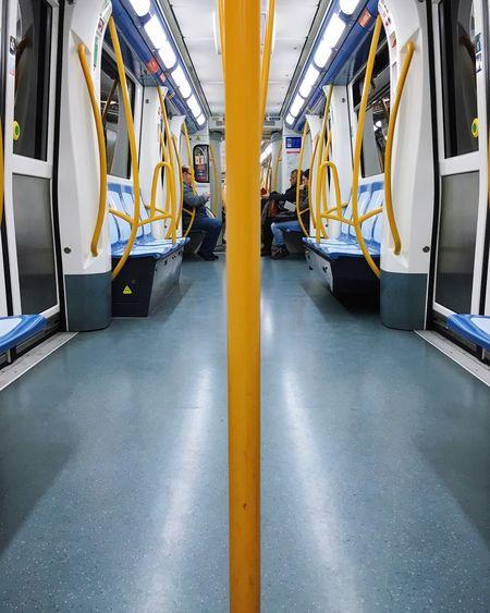 EyeEm Selects Technology Mode Of Transport Transportation Indoors  No People Control Panel Day Metro Train Madrid Metro