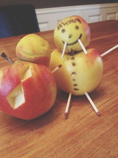 Apple fun with my bro BrotherLove Bapple