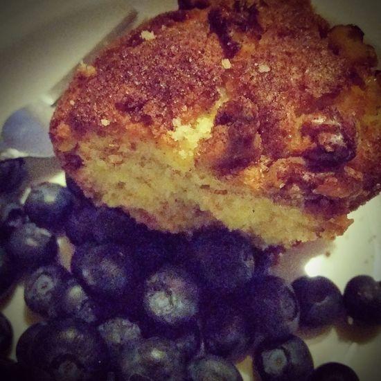 Coffee Cake  Blueberries Yummiest
