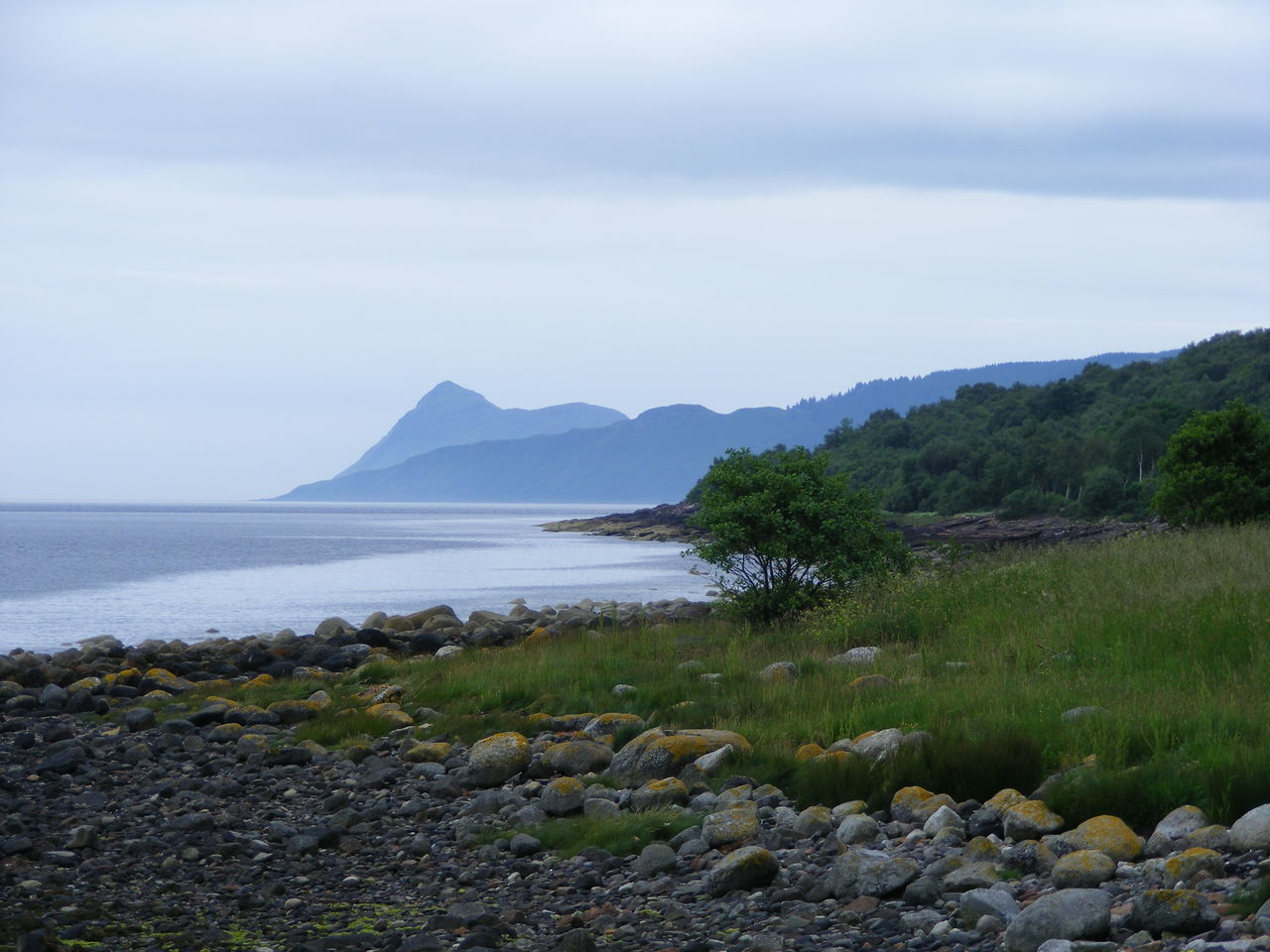 Arran  Beauty In Nature Coastline Idyllic Isle Of Arran  Nature Scenics Scotland Sky Stones Tranquil Scene Tranquility