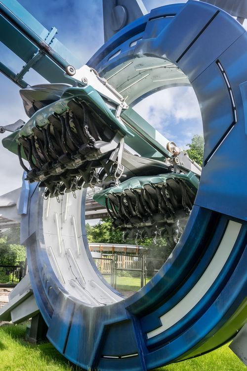 Themeparks Themepark Ride AltonTowers Alton Rollercoaster Rollercoaster Track Rollercoaster Time Galactica Vrcoaster Sharp Focus Sigma 18-35 F1.8 Pc_photography Photography Nikon Taking Photos