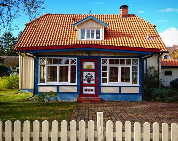 Building Exterior Architecture Built Structure House Outdoors Sky Balticnature Balticsea Vacations WoodLand Baltic Sea Baltic Coast Travel Destinations