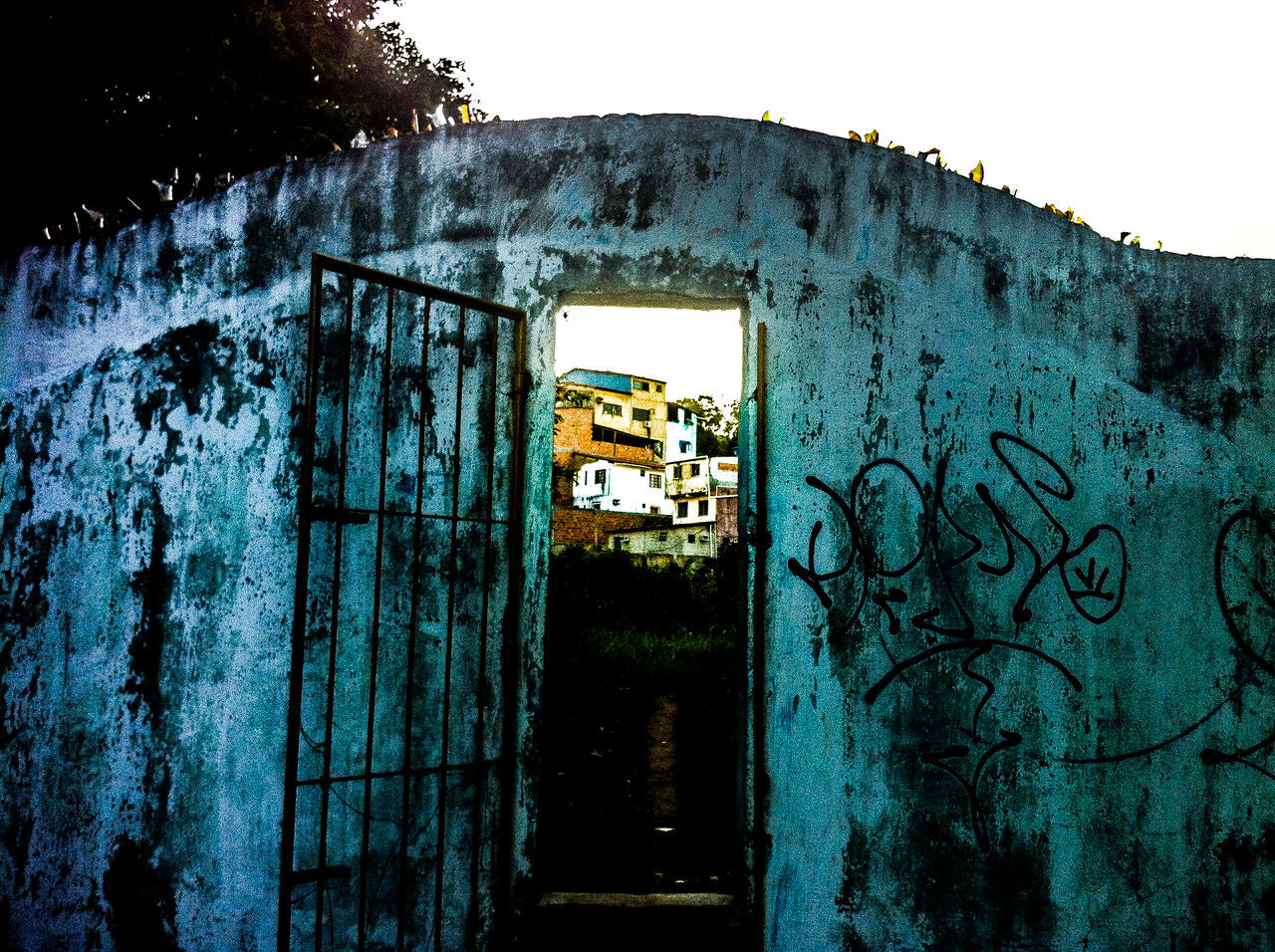 Abandoned Adventure Architecture Bad Condition Brick Wall Building Exterior Built Structure Closed Damaged Day Deterioration Door Favela Graffiti Iphone4 IPhoneography Obsolete Old Ruined Text Wall Wall - Building Feature Wanderlust Wanderlust Wednesday Window