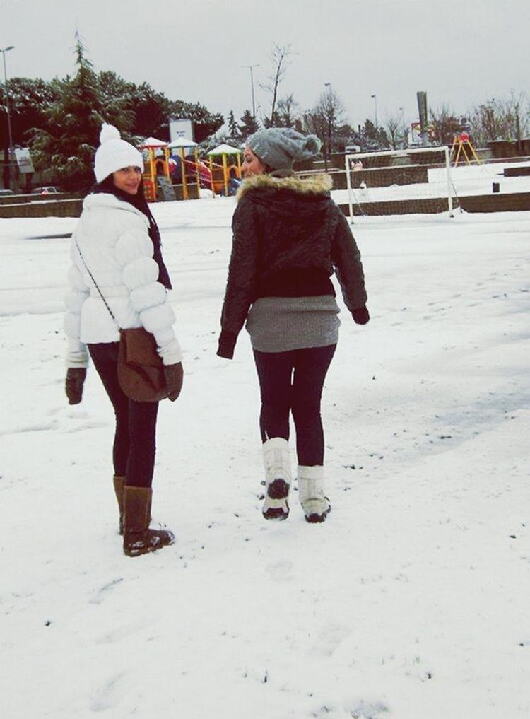 Snow In Rome Bestfriends <3