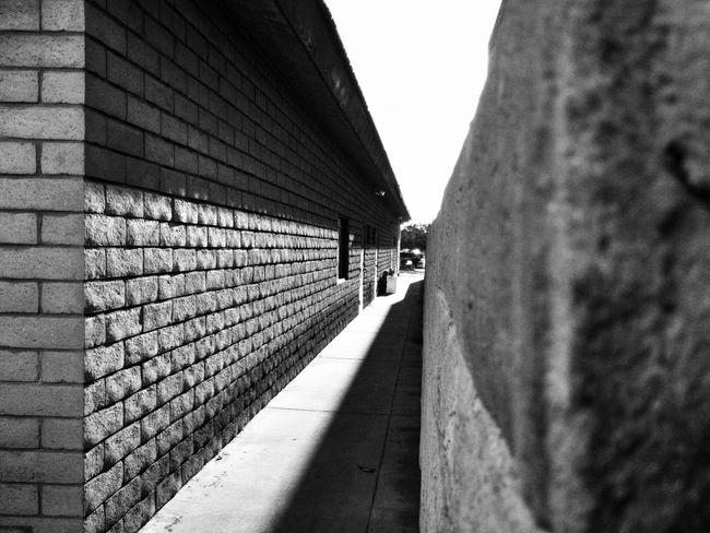 Alleyway Narrow Alleys Brick Wall Black And White Photography Black And White Monochrome