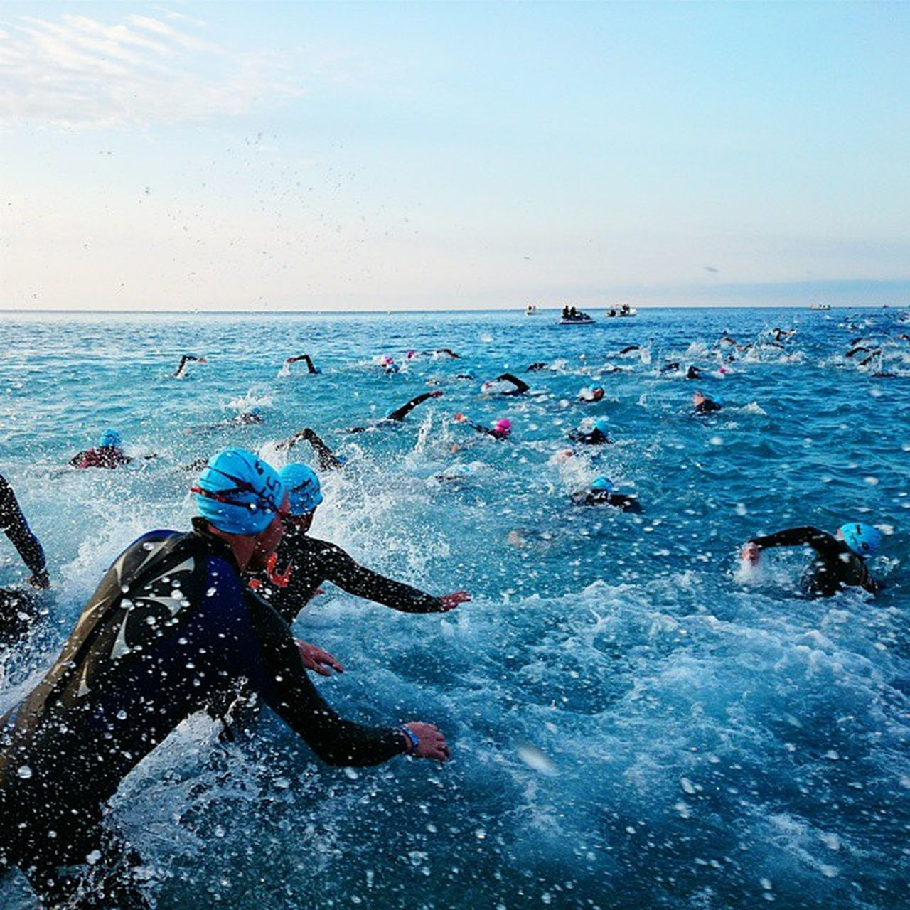 Splash ? Ironman Imnice Triathlonstore Ironmanfrance triathlon swim swimbikerun