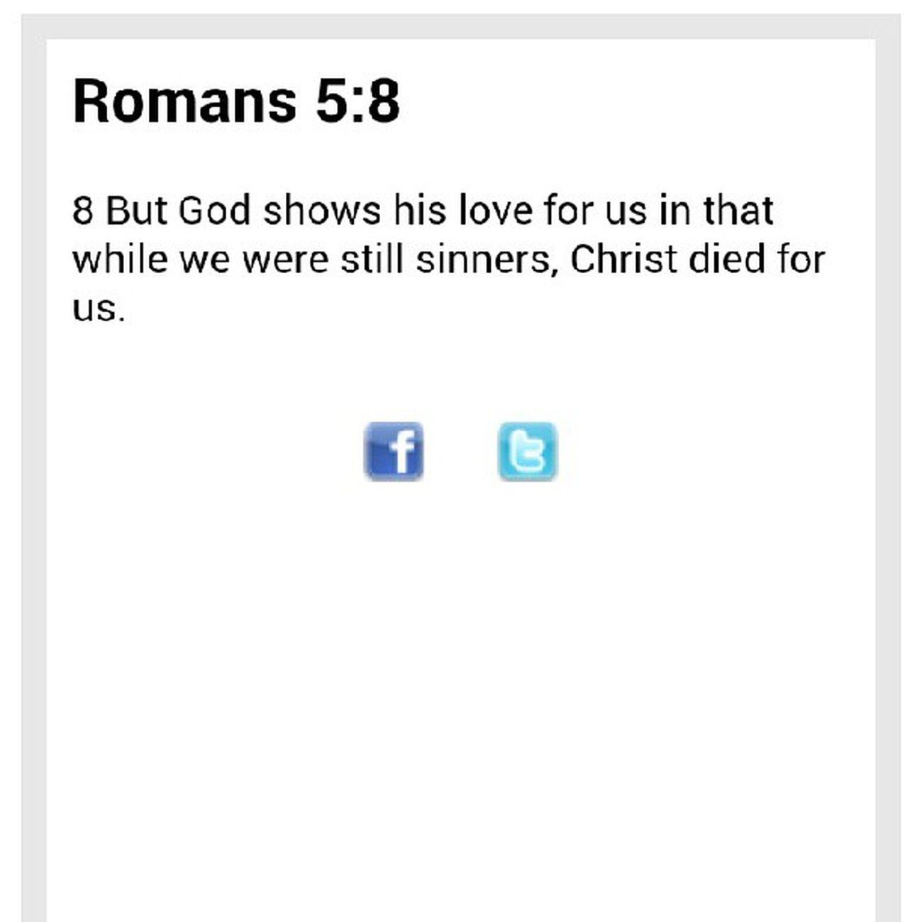 DailyBible - Romans 5:8