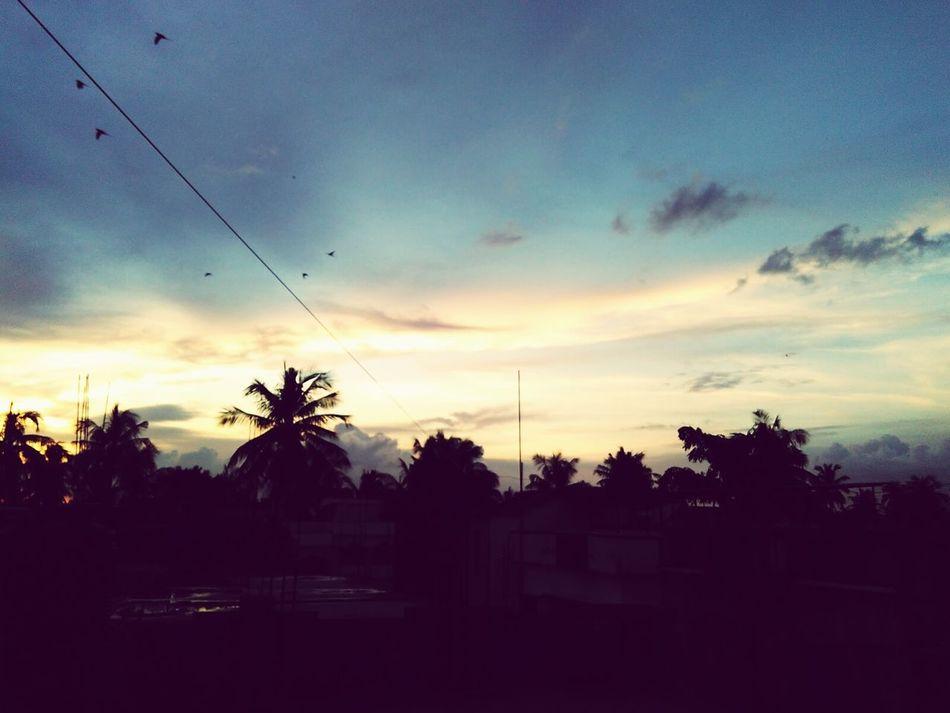 Sunset.. First Eyeem Photo