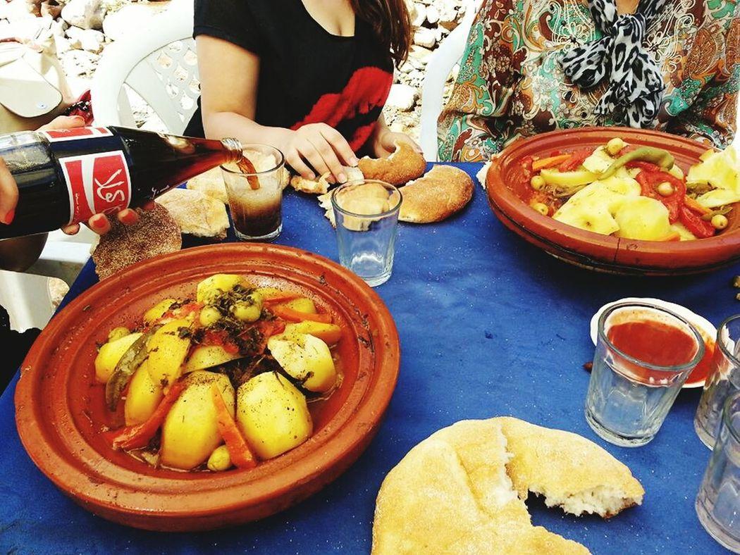 What's For Dinner? Ourika Moroccan Food Tajine Moroccan Food Un Tajine Marocain 100% ♥♥