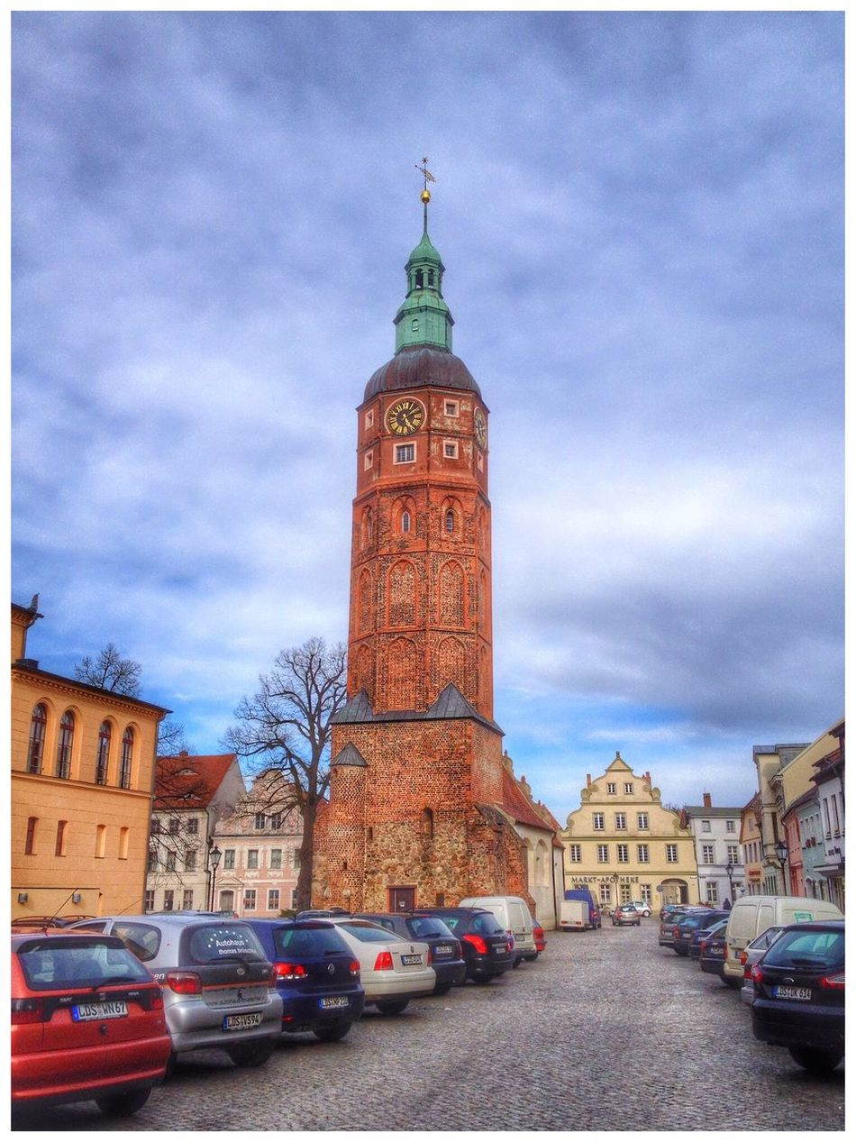 Marktplatz Luckau