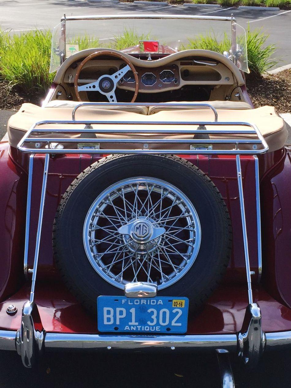 Sweet MG MGB Antique Car