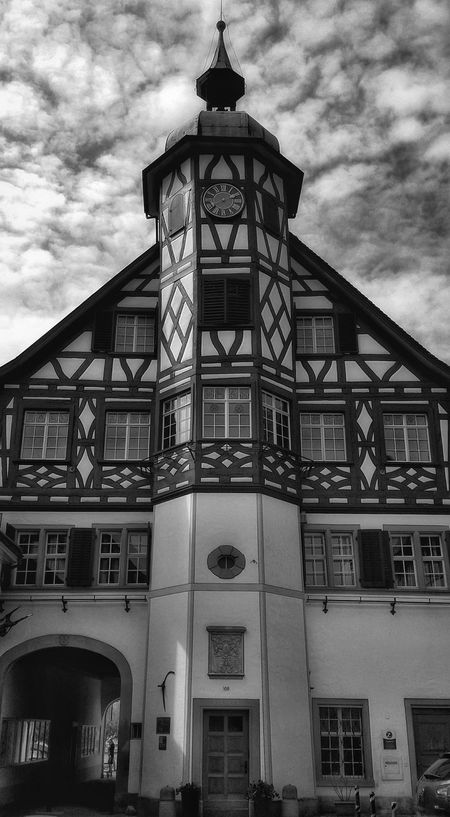 Taking Photos Clouds And Sky Switzerland Light And Shadows Black And White Monochrome Steckborn Architecture Blackandwhite Light In The Darkness Blackandwhite Photography Lights And Shadows Lightanddarkness Light And Darkness  Monochromeart Cloud And Sky Cloudy Skies Cloud Light And Shadow Weather Photography Clouds Weather The Architect - 2016 EyeEm Awards Monochrome Photography Monochrome Collection