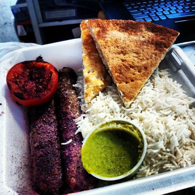 Ground beef kabob Food Kabob