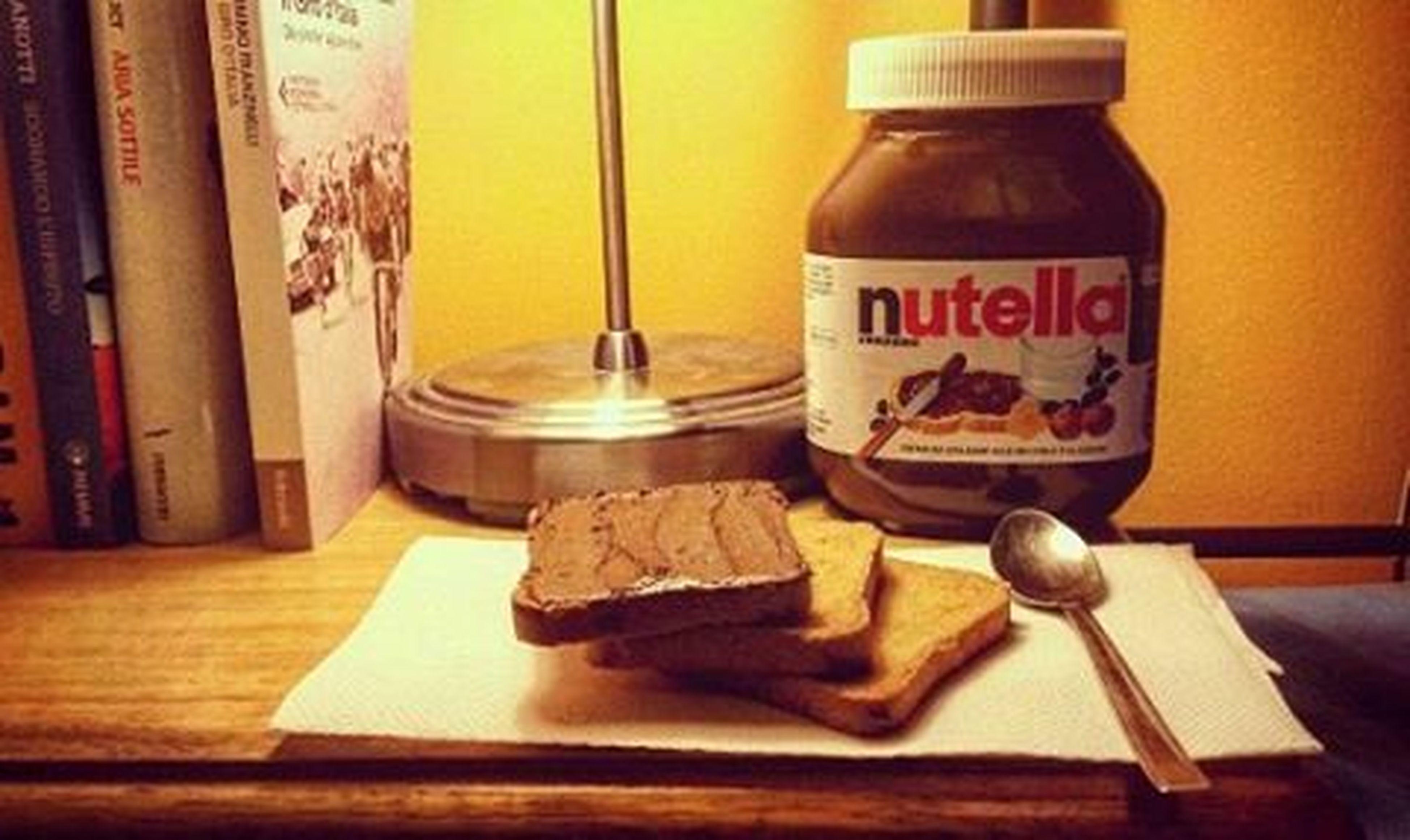 Nutella time ❤ Nutella Love Nutellalove Pensieri Domenica Vogliamocibene Loradelthe Coccoliamoci Nutelladipendente Instagood Instalike Photo Picoftheday Food Mangiachetipassa