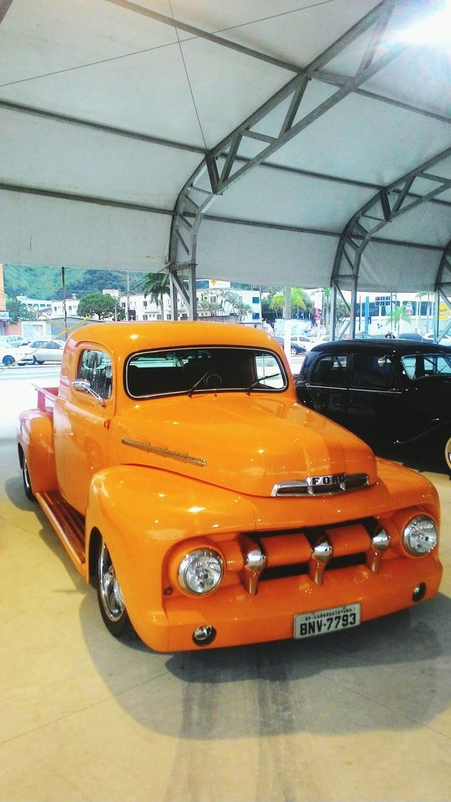 Transportation Mode Of Transport Car Land Vehicle Street Sunny Day Stationary Sun Sky Cable Outdoors Red Van Bright Multi Colored The Way Forward No People CarShow Expo Car Collections Collection Car Studebaker Parking Vehicle
