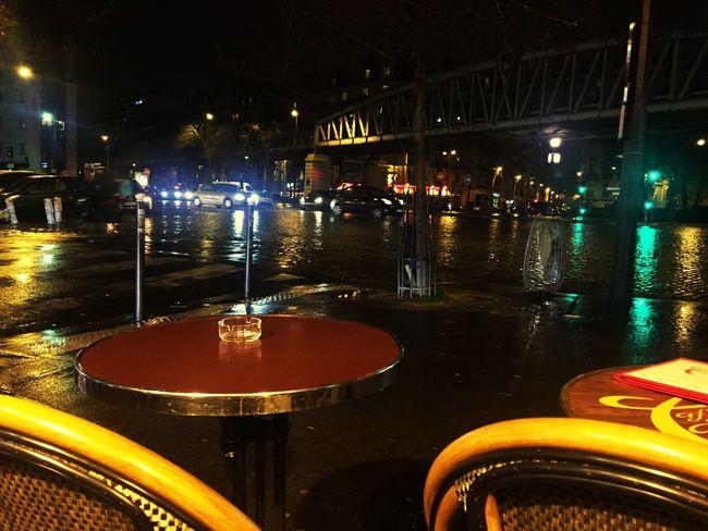 Paris Rain Cambronne Bynight
