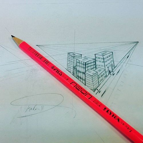 Sleepy Sketch! 😪 Buildings På Nexsus5