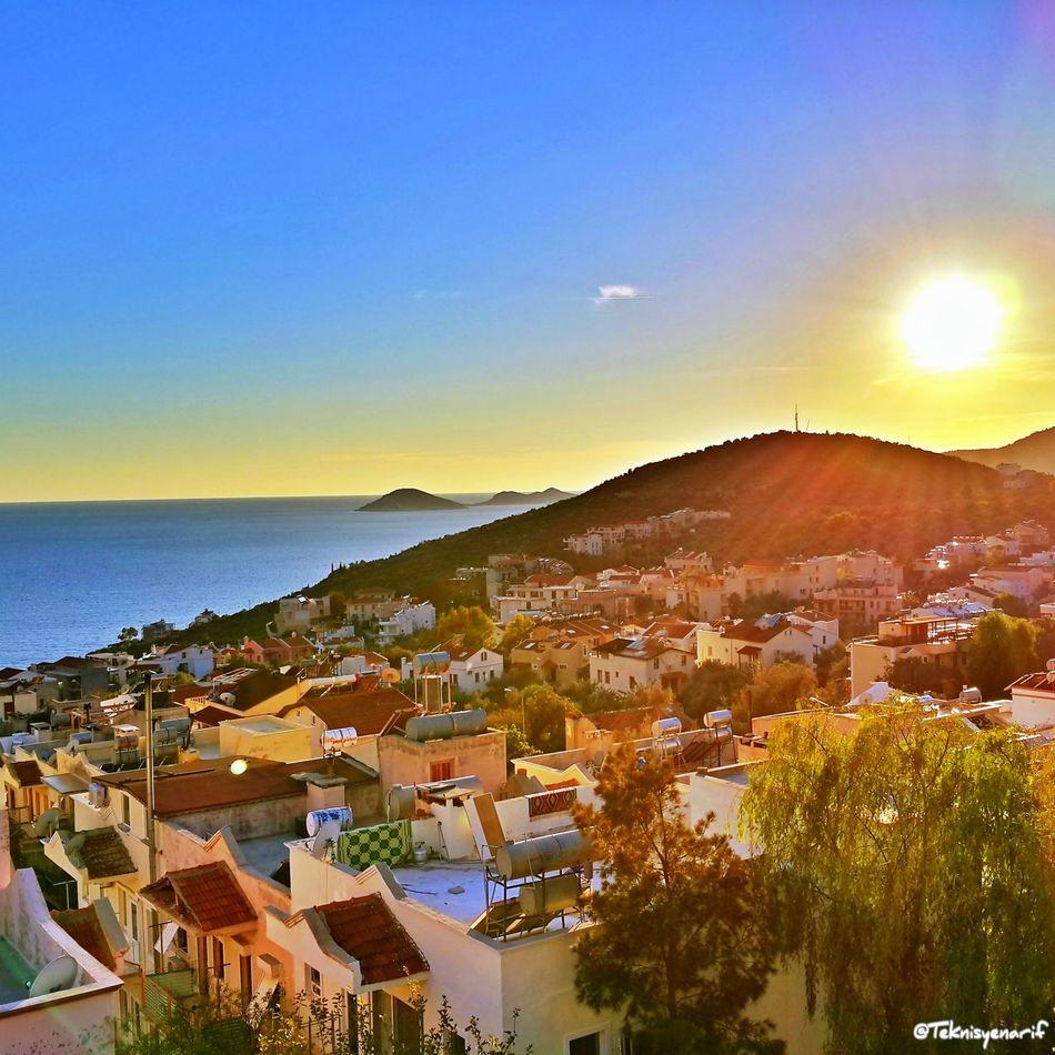 Kalkan sunset Kas Kas #kalkan #summer #sea #holiday #tatil Sunset