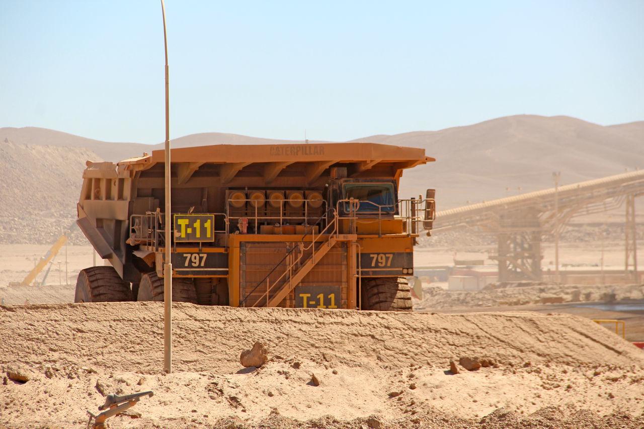 Antucoya Chile Cobre Cooper Finning Minería Mining