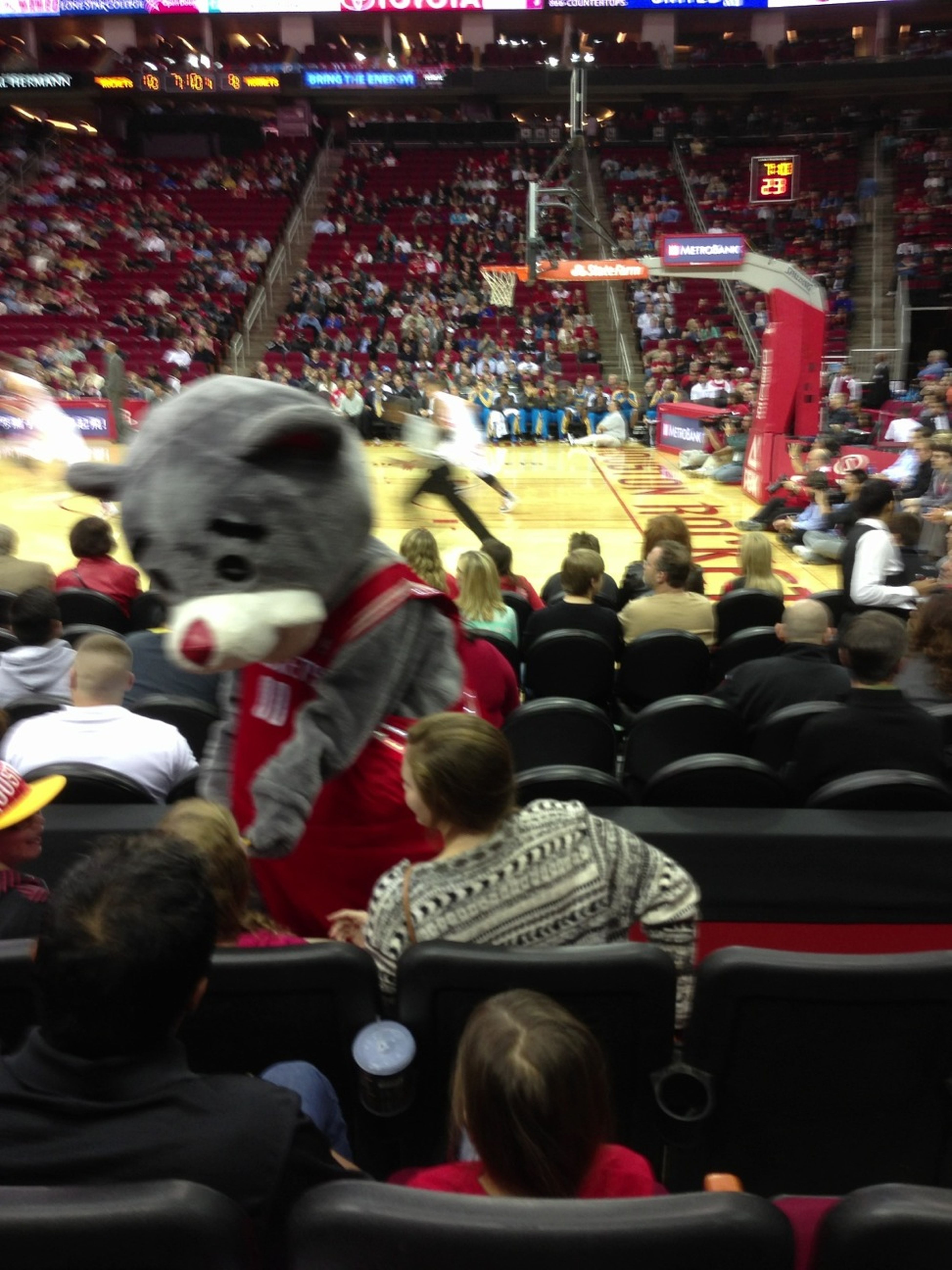 Clutch Rockets Mascot