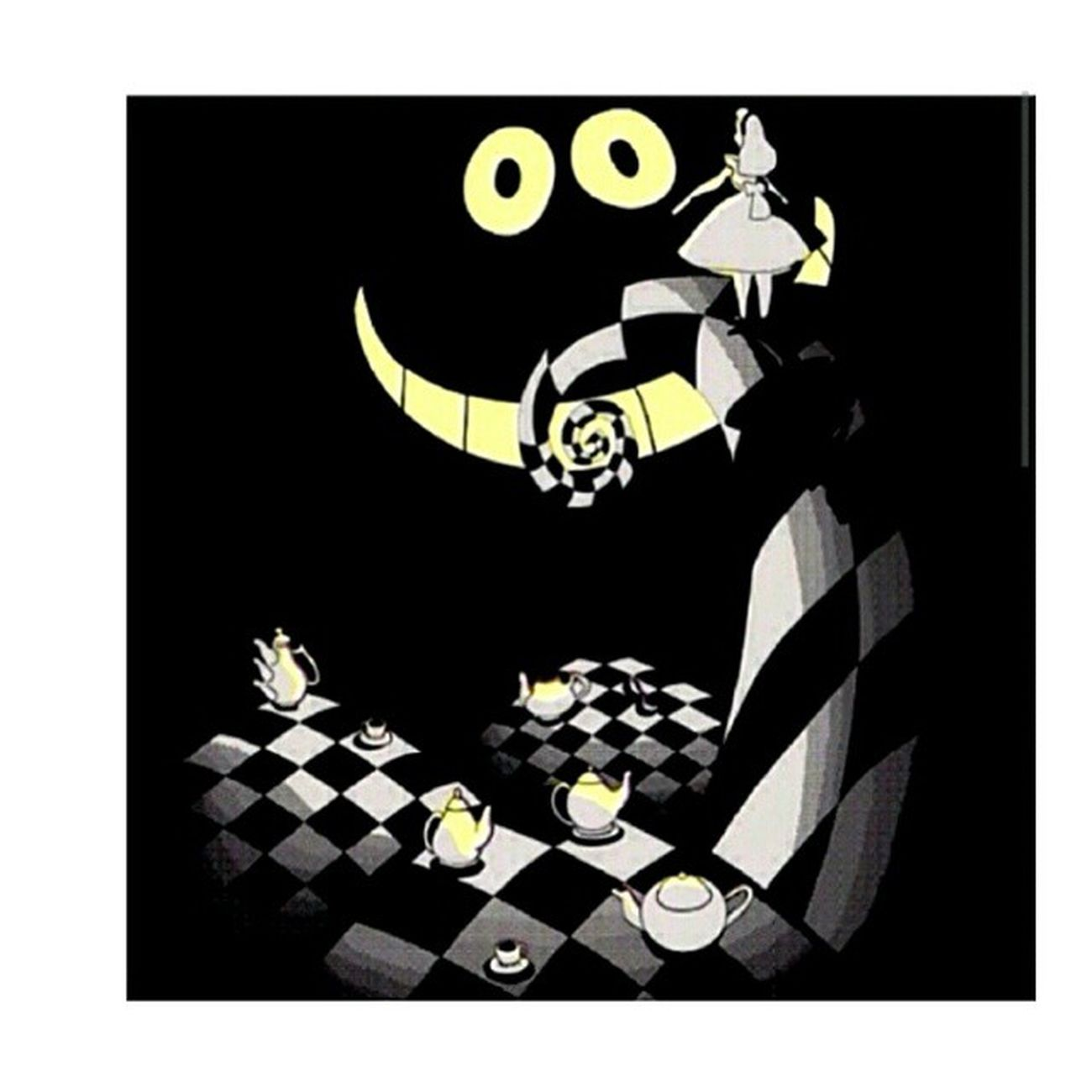 ? my favorite movie and your favorite movie combined!!!! @death_by_j Aliceinwonderland TheNightmareBeforeChristmas