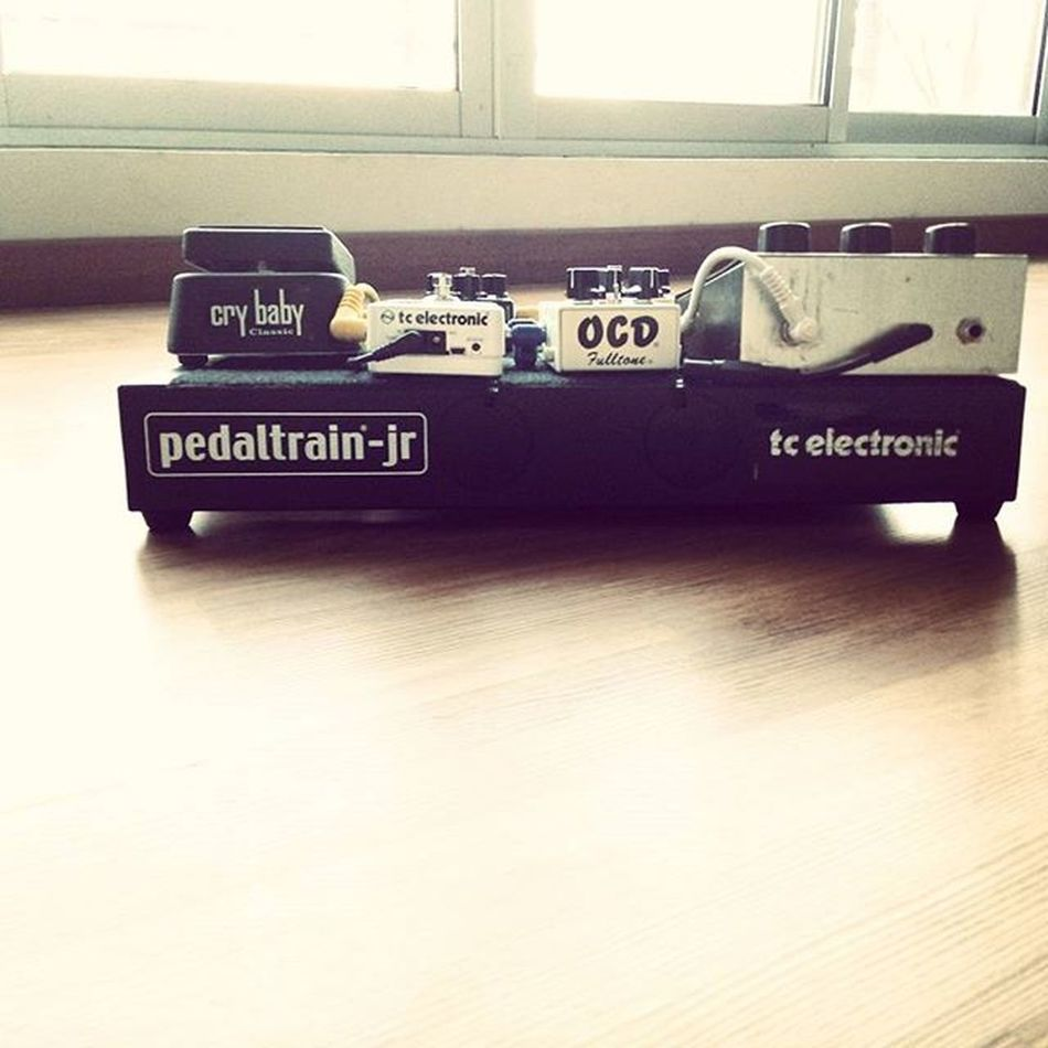 Mypedalboard Pedaltrain Tcelectronic Rock