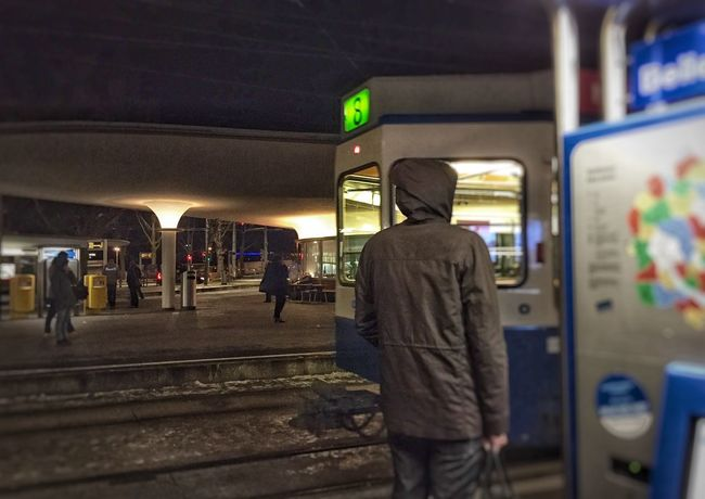 Tram Stations After work