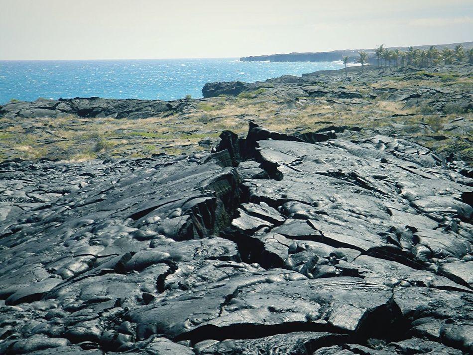 The KIOMI Collection Landscape Nature Lava Eye4photography  Taking Photos Sea Skyporn Getting Inspired EyeEm Nature Lover Volcano Trekking Kilauea