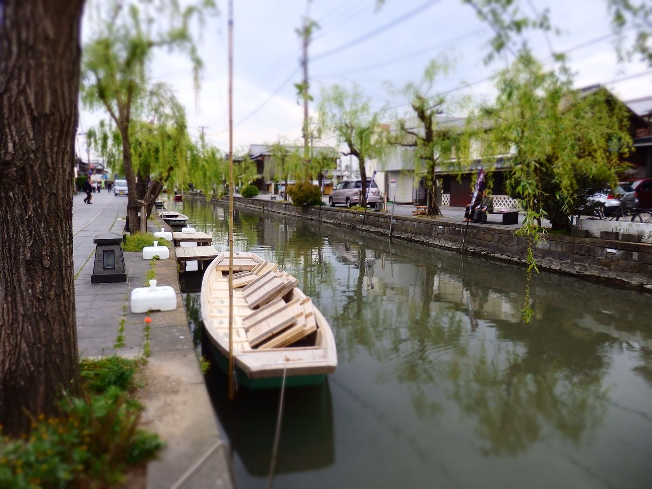 Tokyo,Japan Japan Photography Japan Photos Japanese Style Japan Hakata 日本 柳川 River Trip Japan Culture Cloud - Sky Tree Transportation Nautical Vessel Mode Of Transport Reflection Water Moored Outdoors Day Real People Nature Architecture Sky