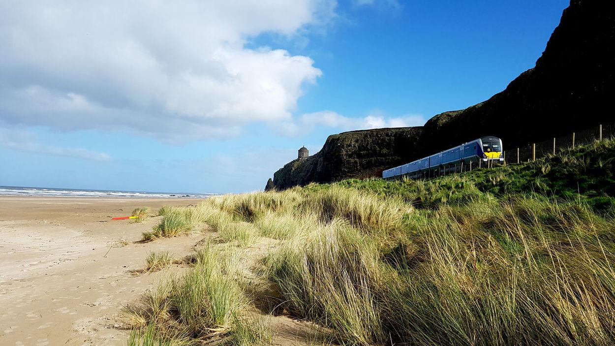 Beach Sea Sand Outdoors Train Eyeemphotography Taking Photos EyeEmBestPics EyeEm Best Shots Landscape EyeEm Nature Lover The Great Outdoors - 2017 EyeEm Awards