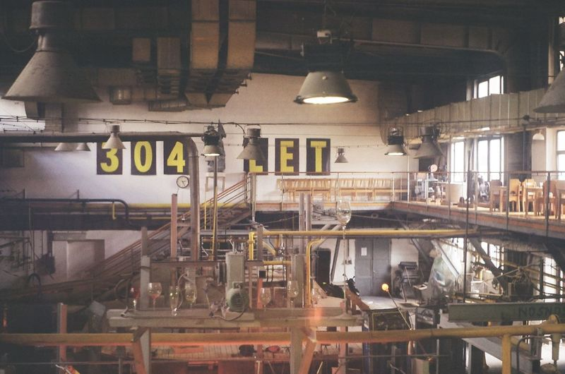 A famous Harrachov glass factory. Second floor view. 304 35mm Film Film Photography Glass Glass Factory Manufacture