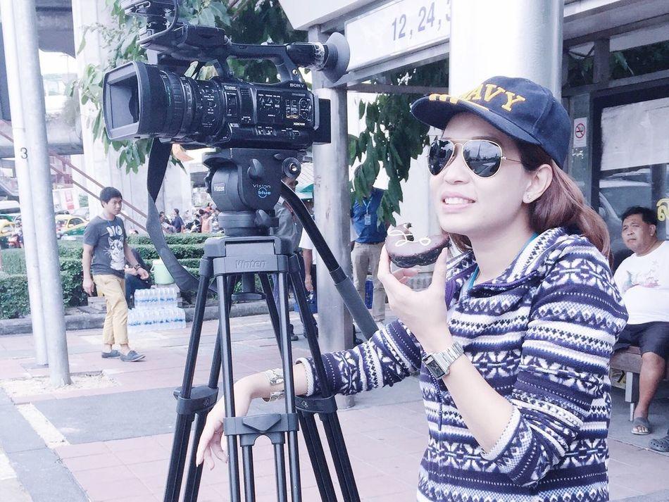 Taking Photos News On TV Press News Working
