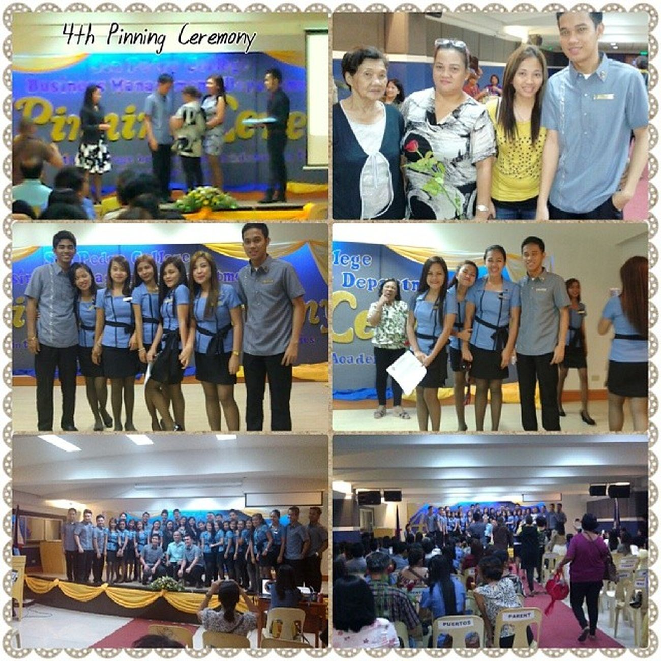 """4th Pinning Ceremony"" [SPC-Bachelor of Science in Business Administration] FeelingProud Success ThankYouLord 11713"
