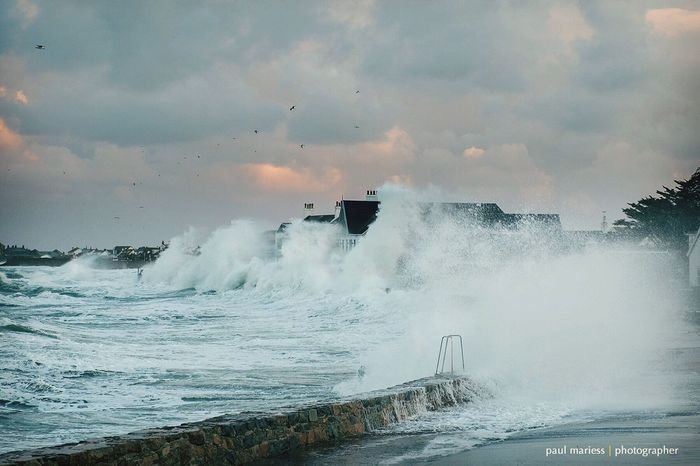 Eye4photography  Storm Weather Guernsey Sea And Sky EyeEm Nature Lover EyeEm Best Shots Seascape Water_collection Sea Clouds And Sky EyeEm Best Shots - Landscape Coastline Winter The Great Outdoors - 2017 EyeEm Awards