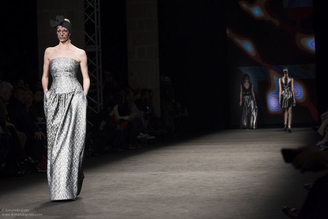 Justicia Ruano's parade, at the 15th edition of the The Fashionist - 2015 EyeEm Awards 080 Bcn Fashion Fashionista Fashion&love&beauty