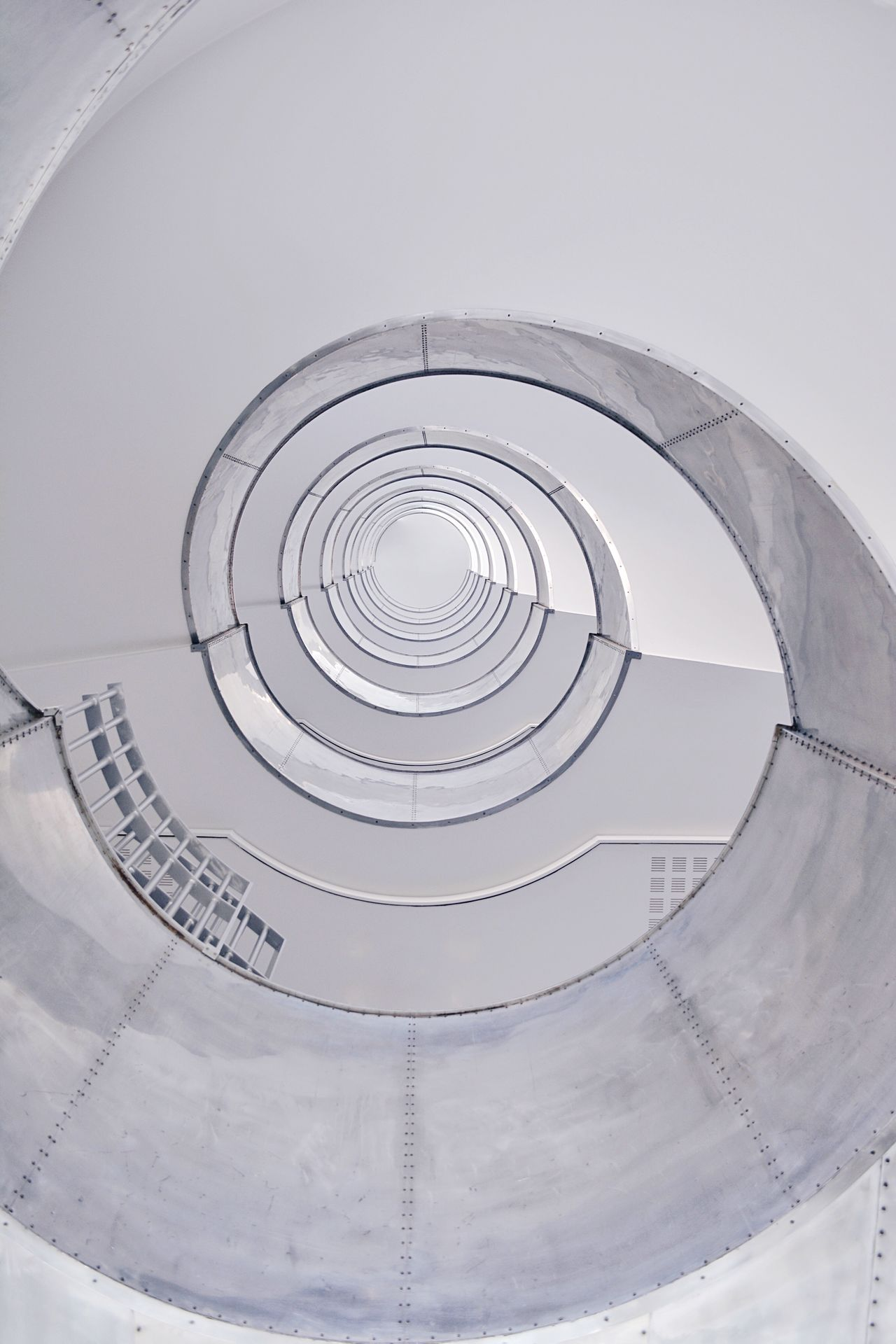 The Architect - 2017 EyeEm Awards Minimalmood Minimalist Photography  Minimalistic Spiral Staircase Circle Architecture Built Structure Steps And Staircases Low Angle View Spiral Staircase EyeEm Best Shots TheWeekOnEyeEM Minimalist Architecture Architecture_collection Architectural Feature Architecturelovers Architecturephotography Architecture Architectural Detail Architectureporn Minimal_lookup Lookingup_architecture Theworldneedsmorespiralstaircases BYOPaper!