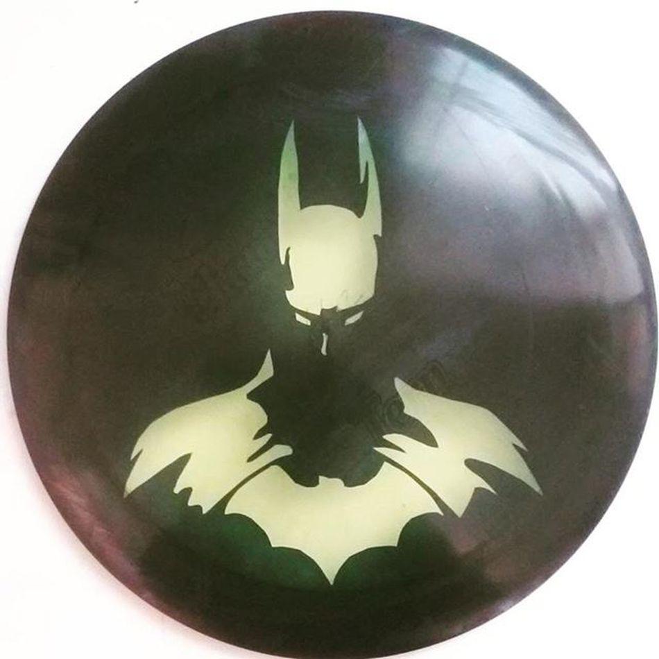 El tercero y mi favorito! Disc Discgolf Batman Innova