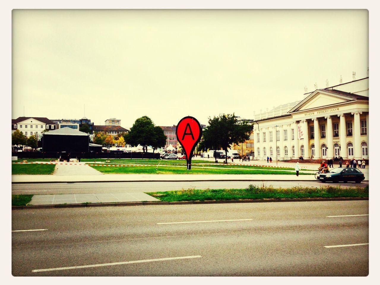 Friedrichsplatz Kassel Places Signs