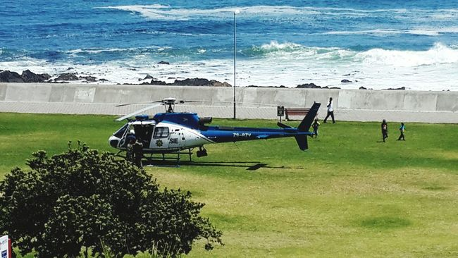 Taking Photos Seapointpromenade Capetown South Africa Iloveafrica Walking Around Police At Work Photography Helicopter 🚁