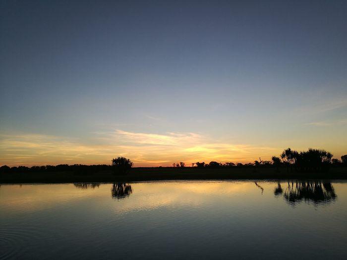 Yellow Water @Kakadu National Park Sunset Beauty In Nature Nature Travel Destinations Sky First Eyeem Photo