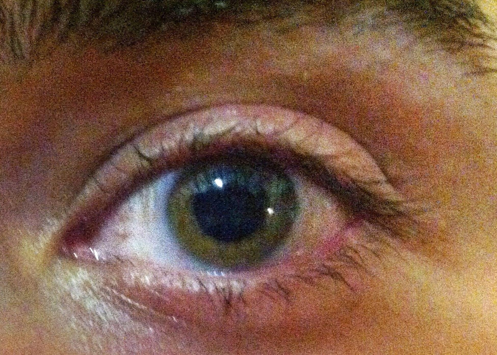 human eye, eyelash, close-up, eyesight, indoors, sensory perception, extreme close-up, full frame, part of, human skin, human face, backgrounds, iris - eye, extreme close up, eyeball, looking at camera, portrait