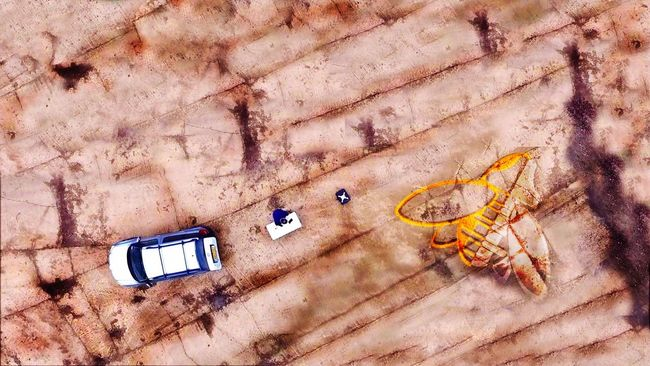Top Down Drone  Dronephotography Www.airnecessity.com Digital Art The Innovator